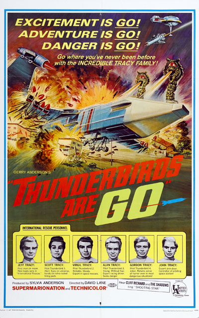Us poster from the movie Thunderbirds Are Go (Thunderbirds Are GO)