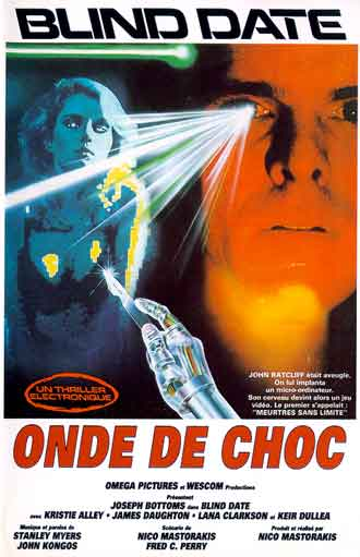 French poster from the movie Blind Date