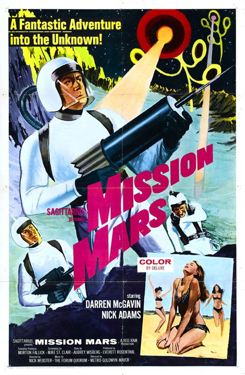 Us poster from the movie Mission Mars