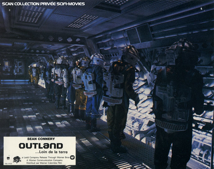 Photo de 'Outland' - ©1981 Warner Bros Scan SciFi-Movies - Outland (Outland) - cliquez sur la photo pour la fermer