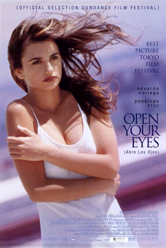 Us poster from the movie Open Your Eyes (Abre los ojos)