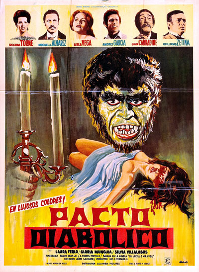 Unknown poster from the movie Diabolical Pact (Pacto diabólico)