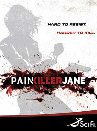 Affiche américaine de 'Painkiller Jane'