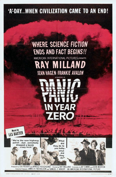 Us poster from the movie Panic in Year Zero!