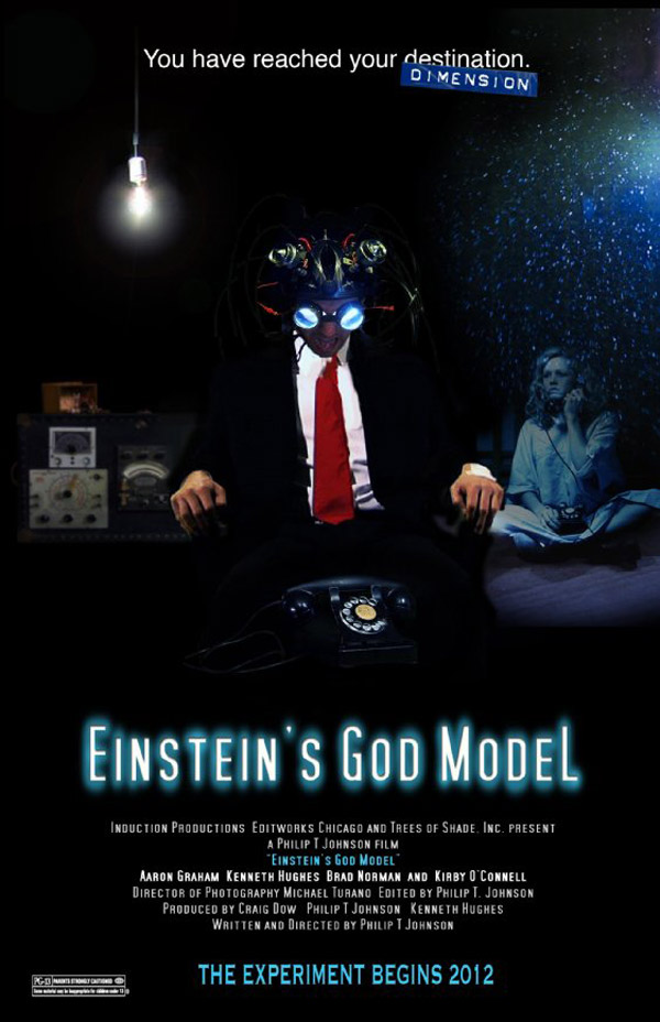 Affiche américaine de 'Einstein's God Model'