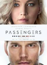 Movie poster from Passengers, in theaters on December 21, 2016