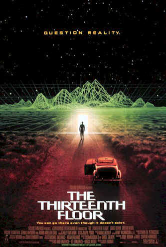 Us poster from the movie The Thirteenth Floor