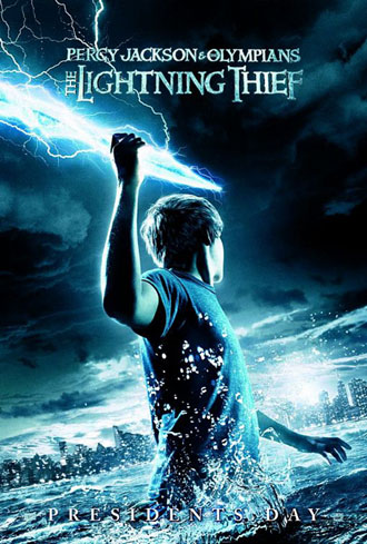 Us poster from the movie Percy Jackson and the Olympians: The Lightning Thief (Percy Jackson & the Olympians: The Lightning Thief)