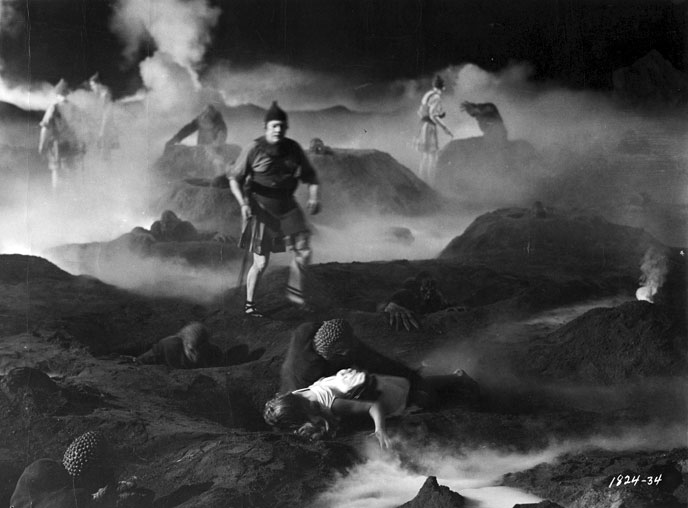 Photo de 'Le peuple de l'enfer' - ©1956 Universal Pictures - Le peuple de l'enfer (The Mole People) - cliquez sur la photo pour la fermer