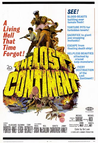 Unknown poster from the movie The Lost Continent