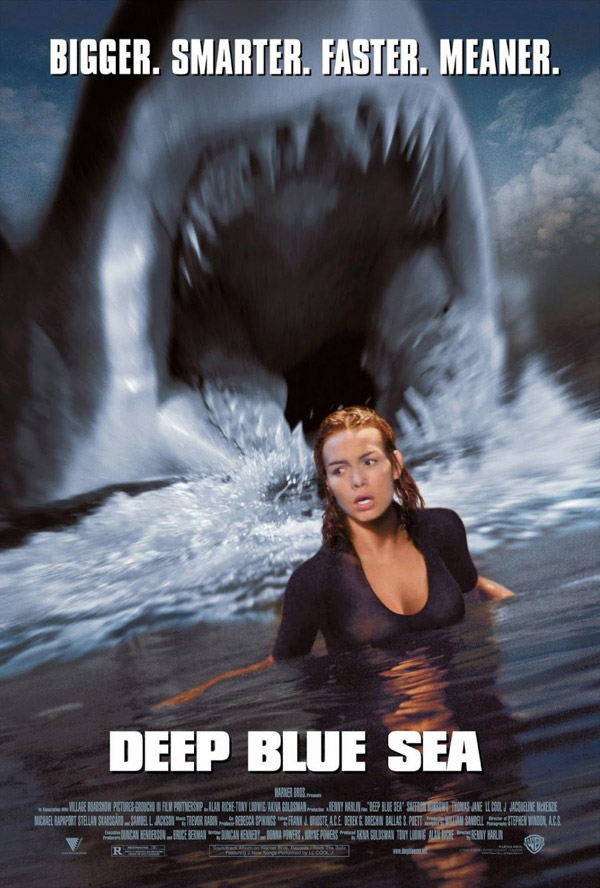 Us poster from the movie Deep Blue Sea