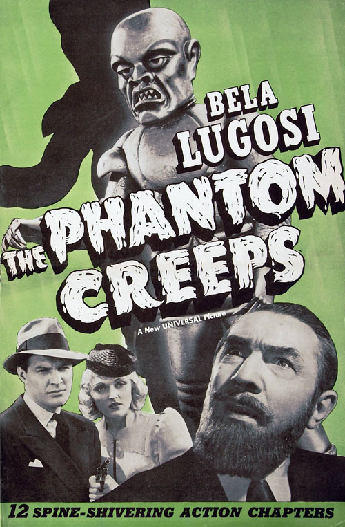 Affiche américaine de 'The Phantom Creeps'
