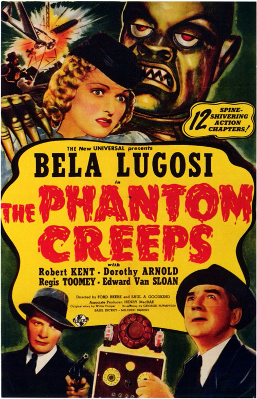 Us poster from the movie The Phantom Creeps