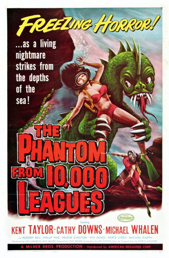 Us poster from the movie The Phantom from 10,000 Leagues