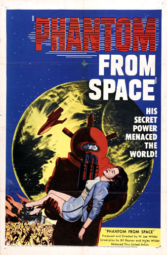 Unknown poster from the movie Phantom from Space