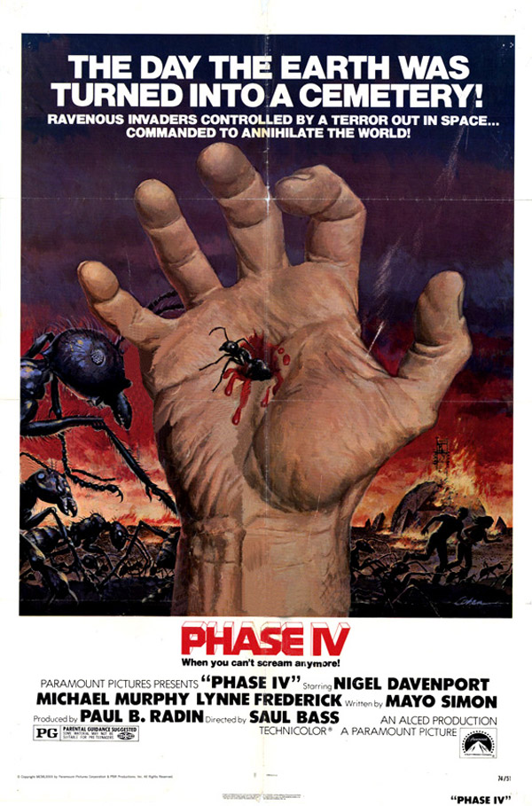 Us poster from the movie Phase IV