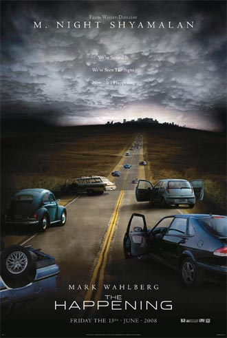 Us poster from the movie The Happening
