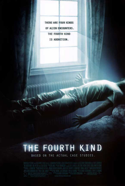 Us poster from the movie The Fourth Kind