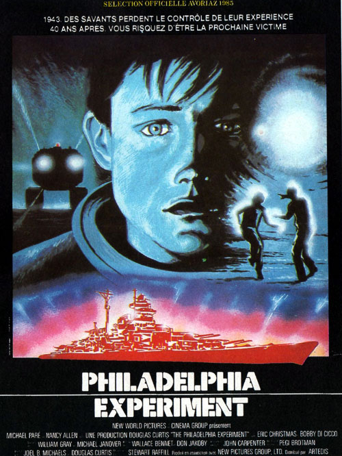 French poster from the movie The Philadelphia Experiment