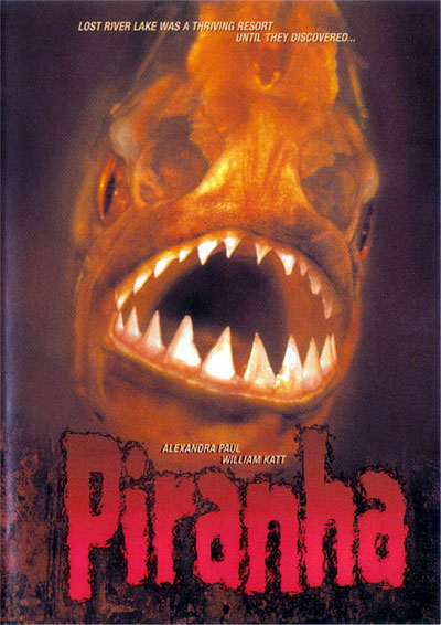 Unknown artwork from the movie Piranha