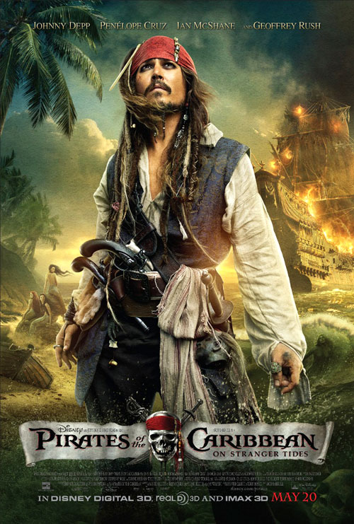 Us poster from the movie Pirates of the Caribbean: On Stranger Tides