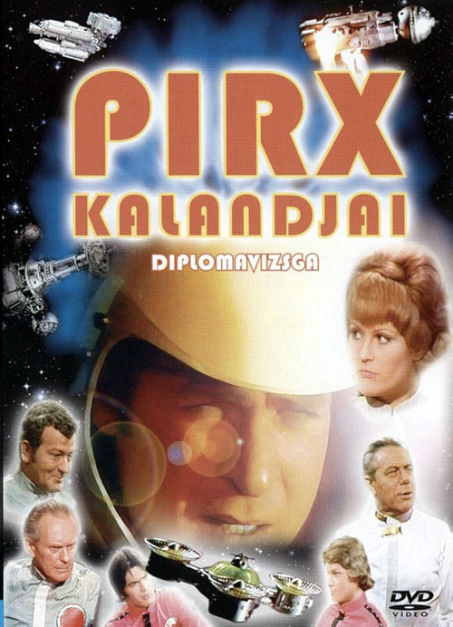 French poster from the series Pirx kalandjai