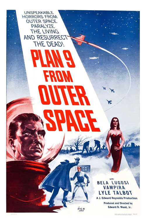 Us poster from the movie Plan 9 from Outer Space