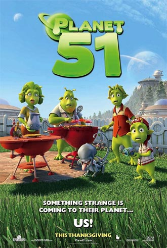 Us poster from the movie Planet 51