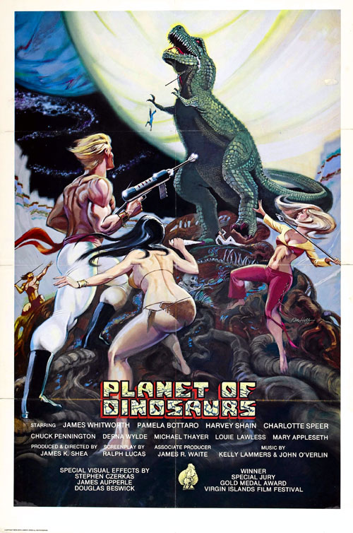 Us poster from the movie Planet of Dinosaurs