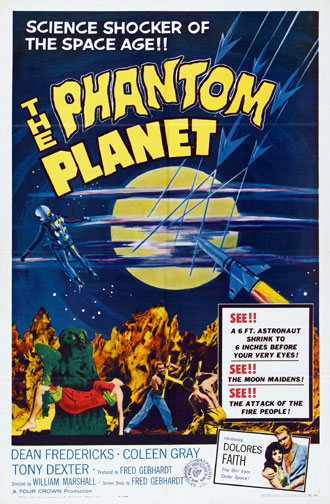 Unknown poster from the movie The Phantom Planet