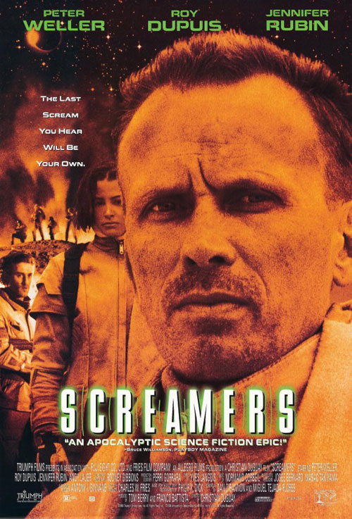 Us poster from the movie Screamers