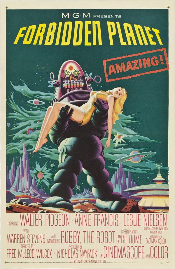 Us poster from the movie Forbidden Planet