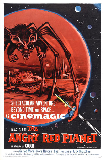 Us poster from the movie The Angry Red Planet