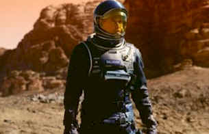 Gallagher is the only survivor of the Martian adventure - Red Planet