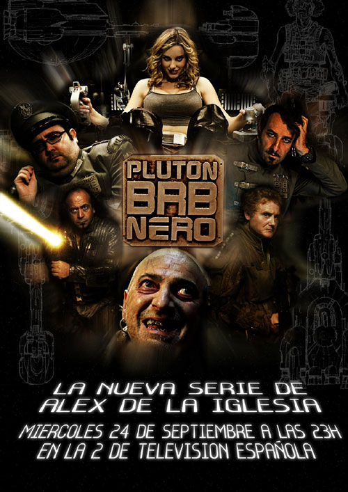 Spanish poster from the series Plutón B.R.B. Nero