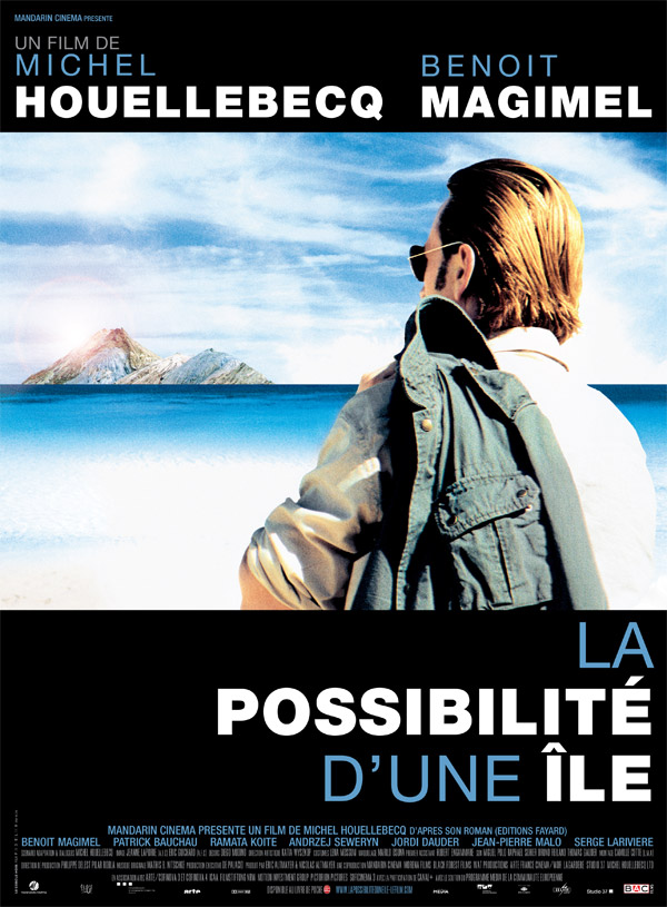 French poster from the movie La possibilité d'une île