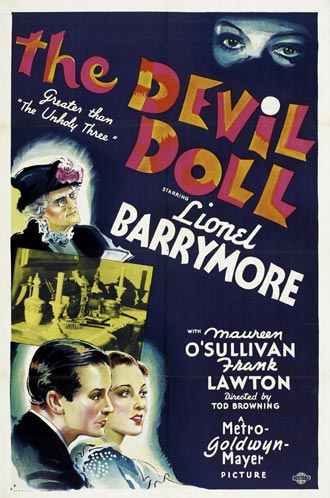 Us poster from the movie The Devil-Doll