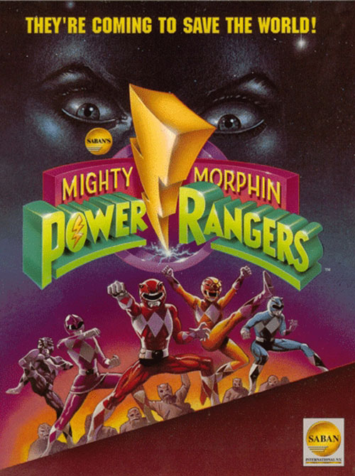 Unknown poster from the series Mighty Morphin' Power Rangers
