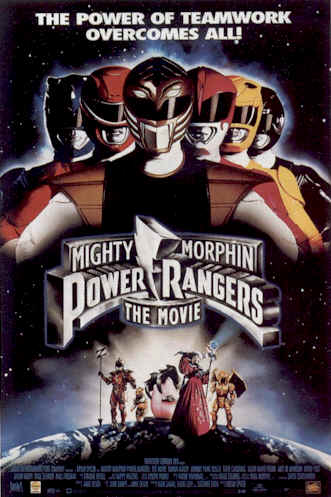 Unknown poster from the movie Mighty Morphin Power Rangers: The Movie