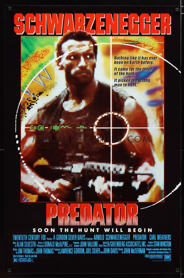 Us poster from the movie Predator
