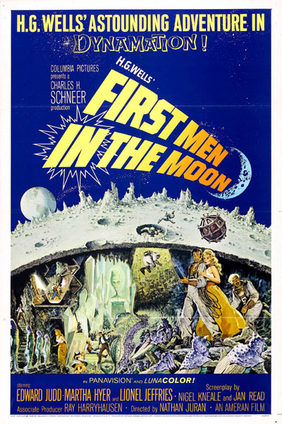 Us poster from the movie First Men in the Moon