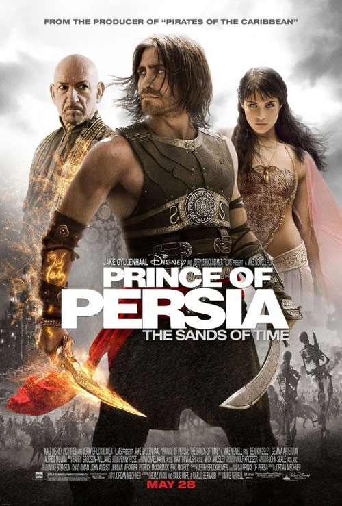 Us poster from the movie Prince of Persia: The Sands of Time