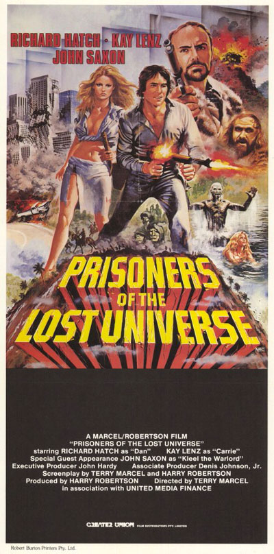 Unknown poster from the movie Prisoners of the Lost Universe