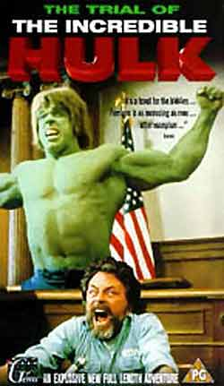 Unknown poster from 'The Trial of the Incredible Hulk'