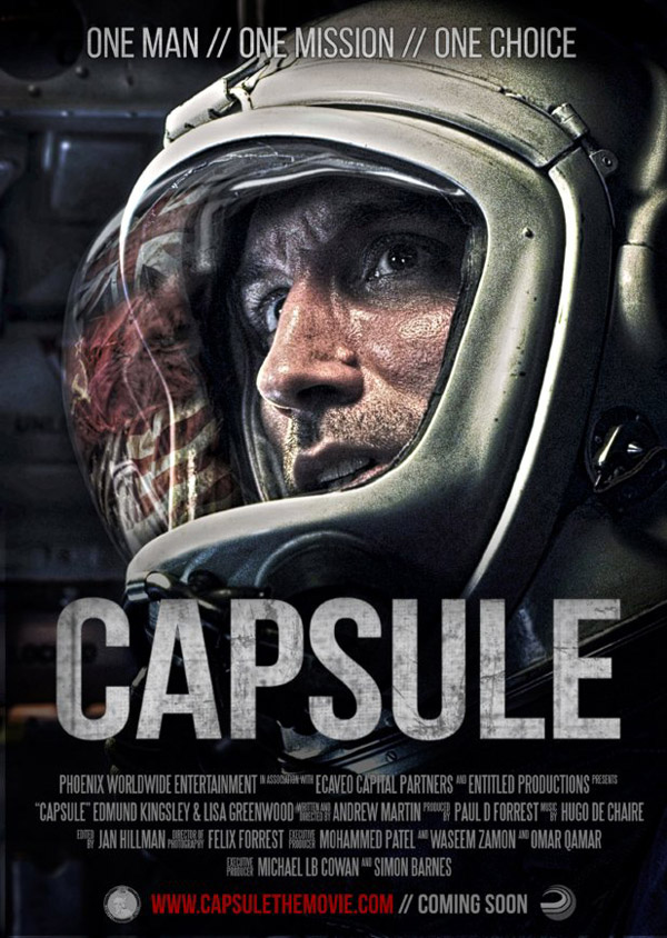 British poster from the movie Capsule