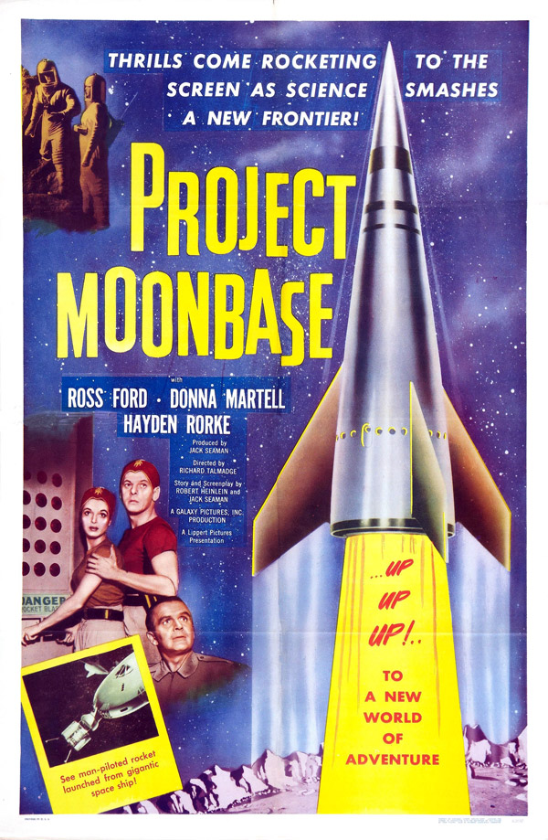 Us poster from the movie Project Moon Base