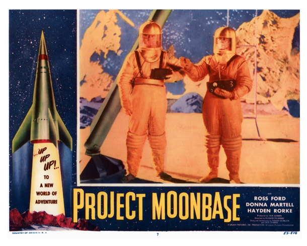 Photo de 'Project Moon Base' - ©1953 Galaxy Pictures Inc. - Project Moon Base (Project Moon Base) - cliquez sur la photo pour la fermer