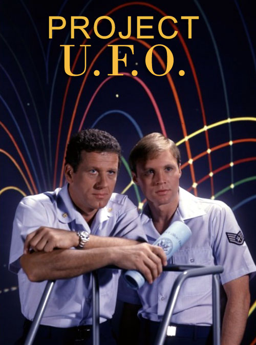 French poster from the series Project U.F.O.