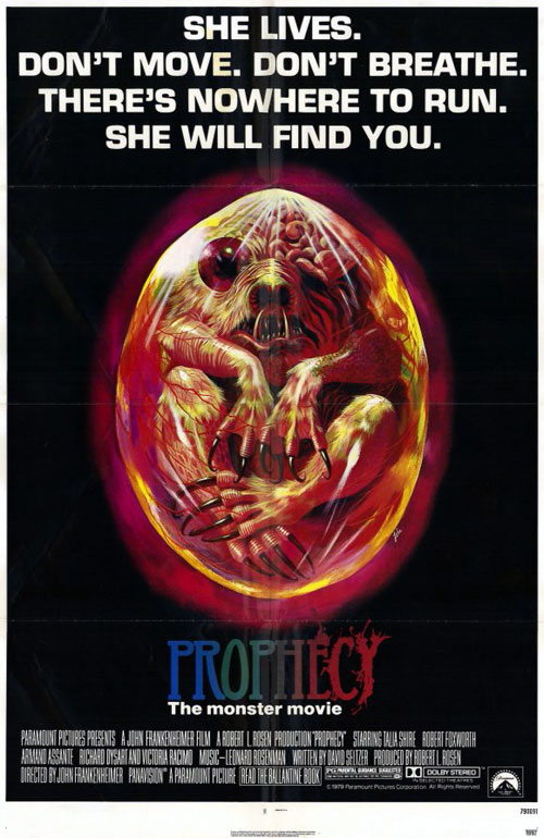 Us poster from the movie Prophecy