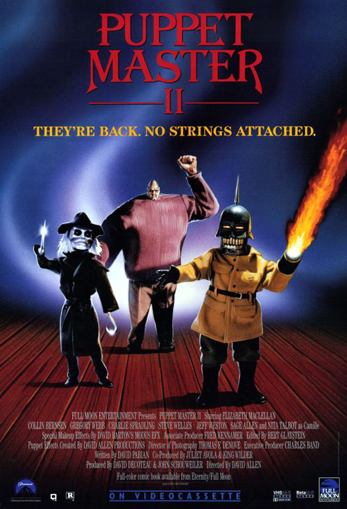 Us poster from the movie Puppet Master II